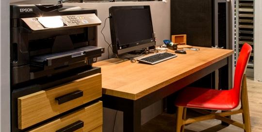 Bureau modèle FORUM de la gamme LCF Design
